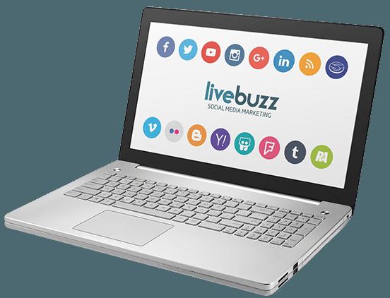 Livebuzz é a solução para redes sociais
