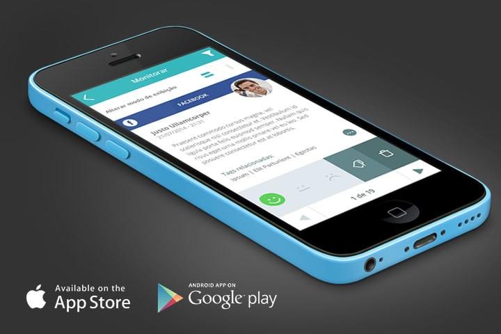 monitoramento de redes sociais no celular