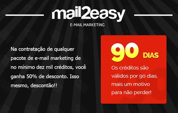 E-mail marketing na Black Friday com desconto