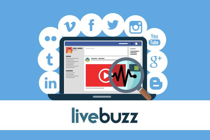 monitoramento de redes sociais com Livebuzz