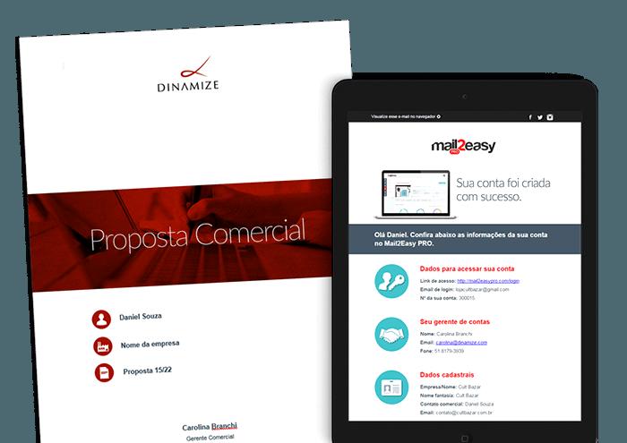 Solicite uma demostração de nossa ferramenta de email marketing