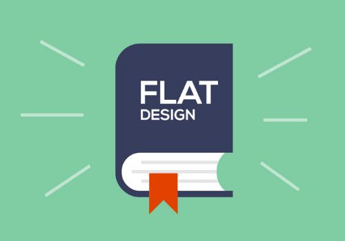 Design flat é a tendência