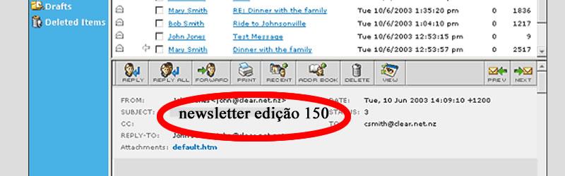 Assunto do e-mail