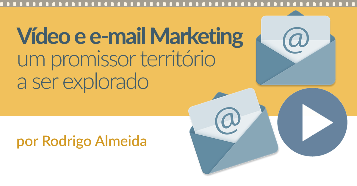 vídeo no email