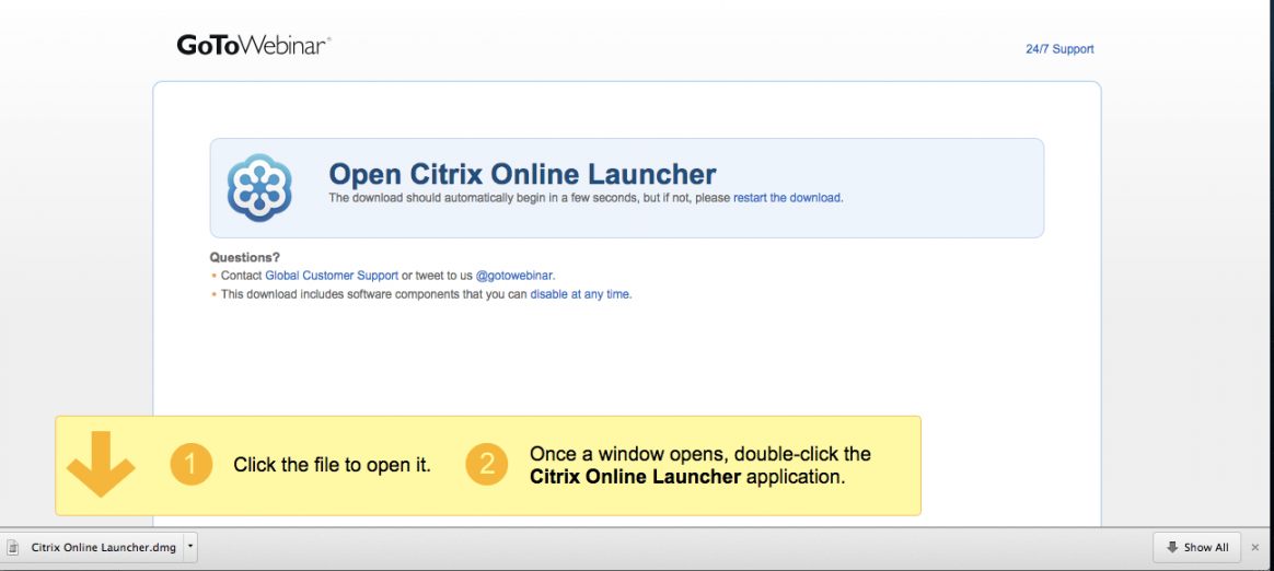 Download do aplicativo da citrix