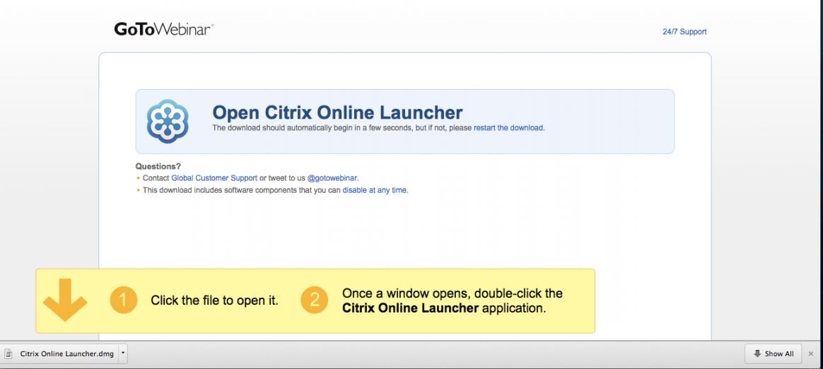 Download do aplicativo da citrix