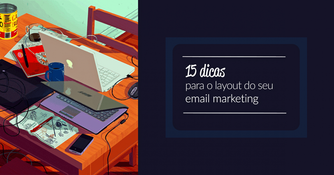 dicas de layout email marketing