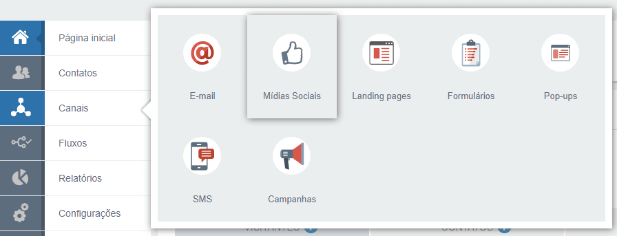 Criando publicação na plataforma