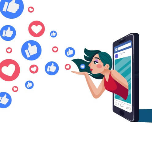 Cadastro a partir do call-to-action de página do Facebook, geração de leads