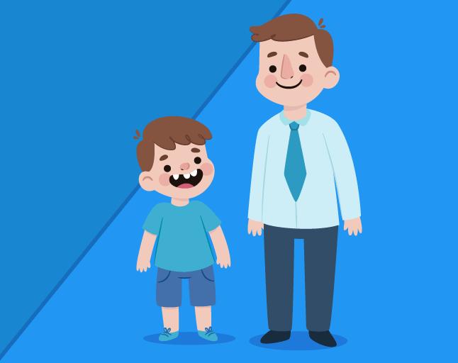 Campanha de email para o dia dos pais