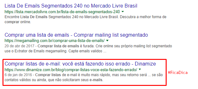 Entregabilidade email marketing