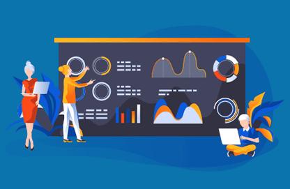 Estatísticas detalhadas do seu site para sua estratégia de gestão e automação de marketing digital.