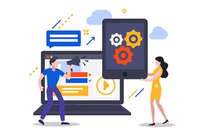 Editor de email marketing e criação e publicação de landing pages para atração de novos leads e clientes - Plataforma de email marketing completa