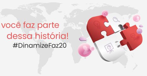 Festa em comemoração de 20 anos da Dinamize