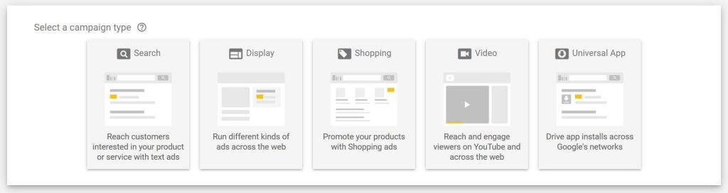crie sua campanha no google shopping