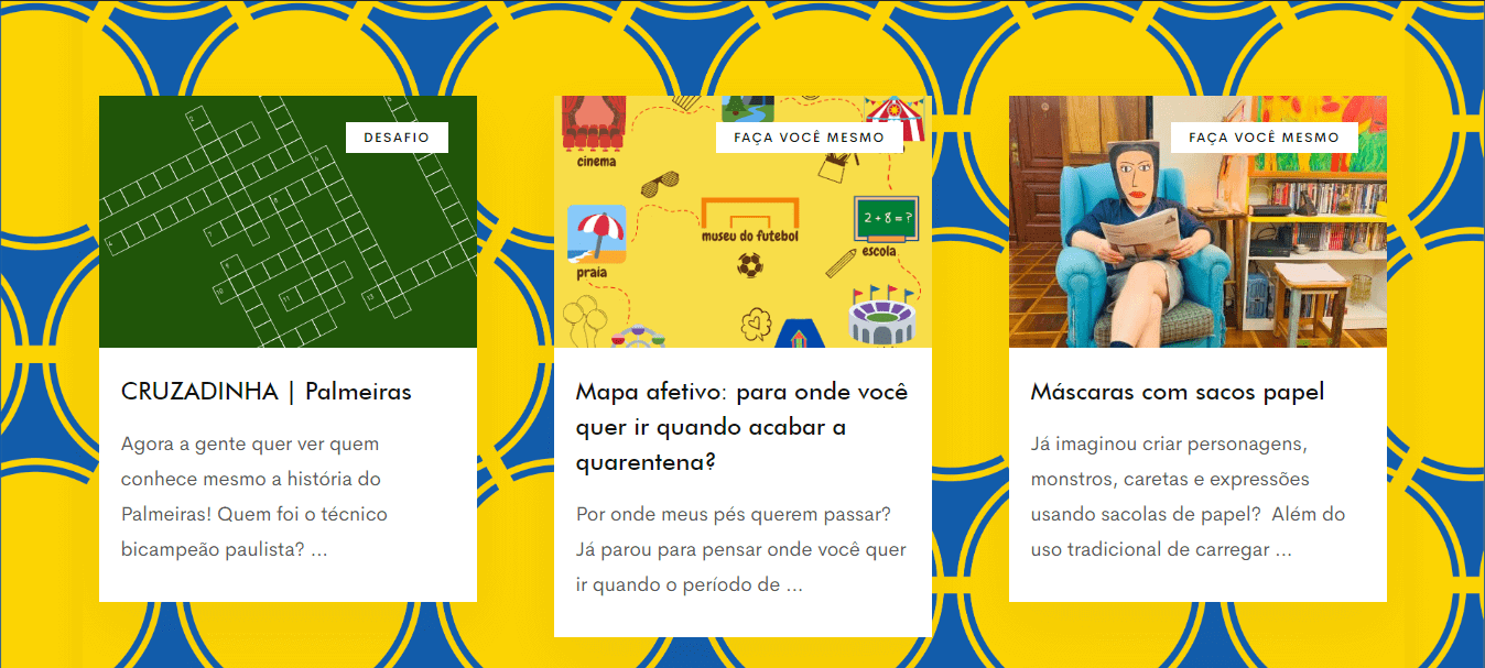 Portal Educar do Museu do Futebol