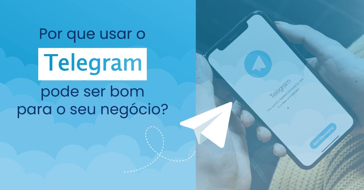 telegram negócios