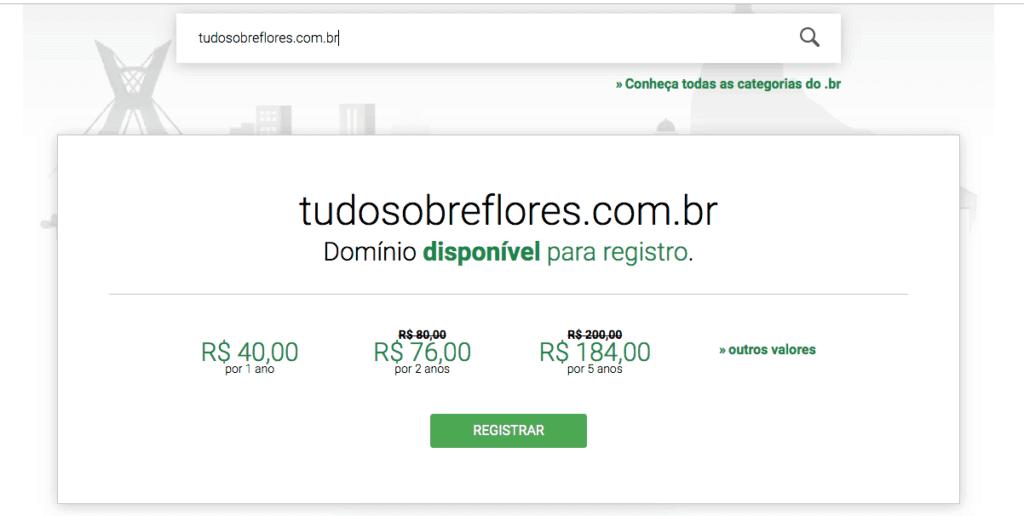 Registro br - blog