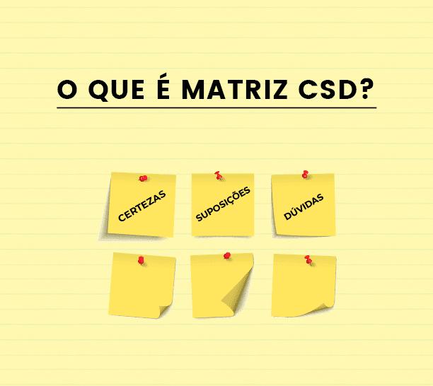 Matriz CSD