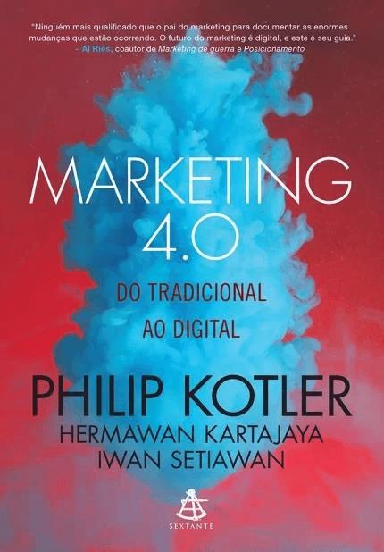 marketing 4.0, um dos livros sobre marketing digital do autor Philip Kotler sobre