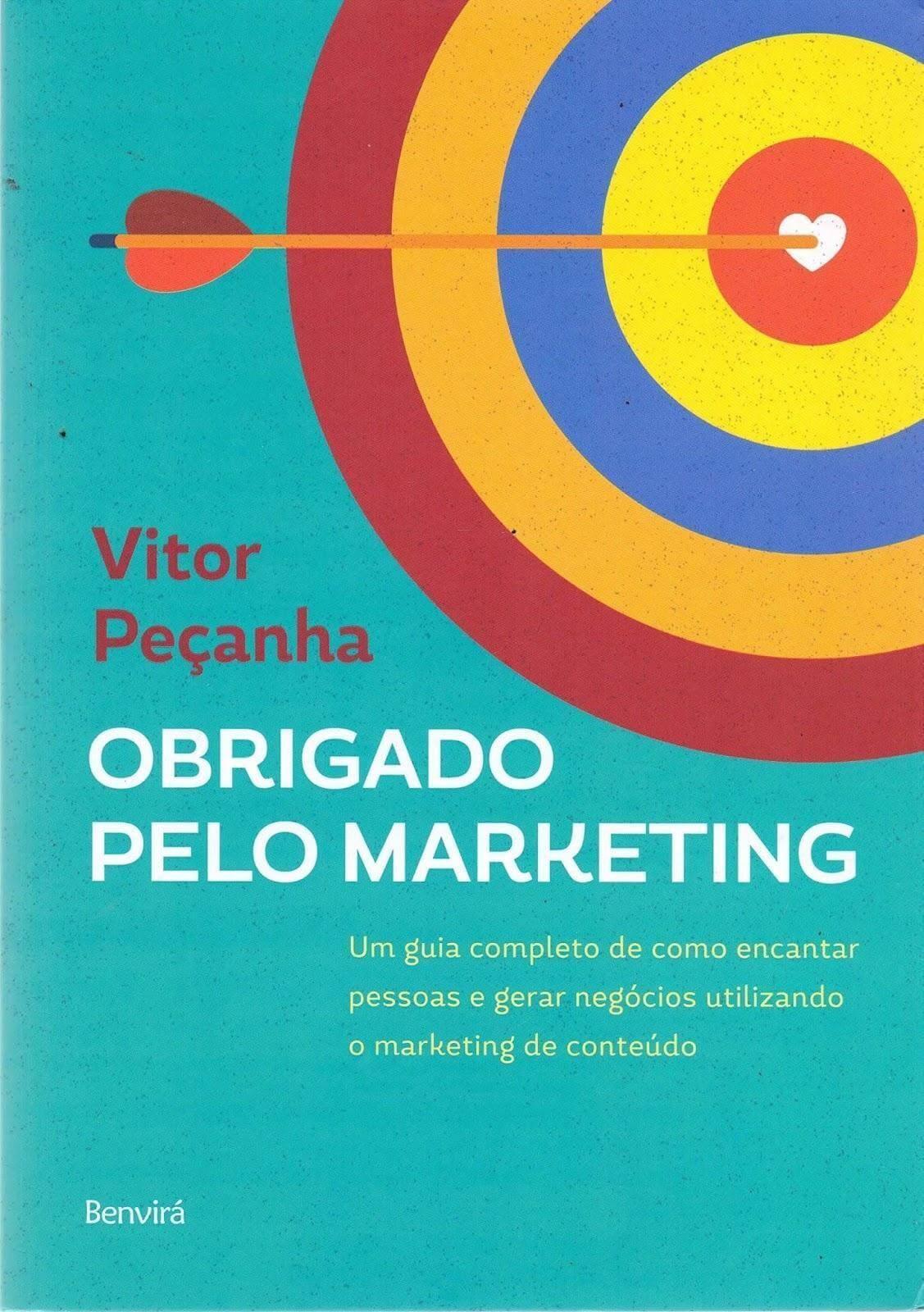 Livro Obrigado Pelo Marketing, de Vitor Peçanha