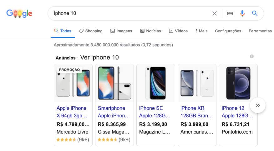 o que é o Google Shopping