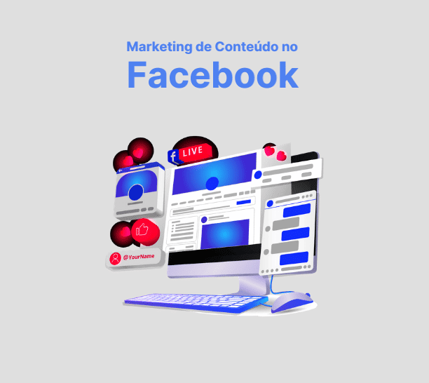 marketing de conteúdo no Facebook