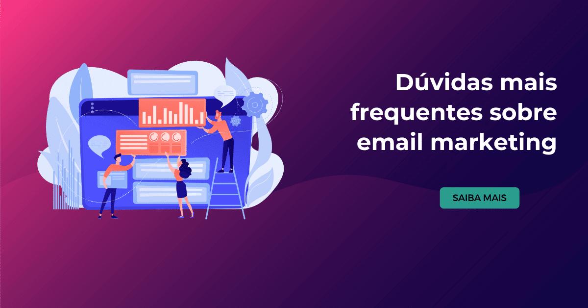 dúvidas sobre email marketing