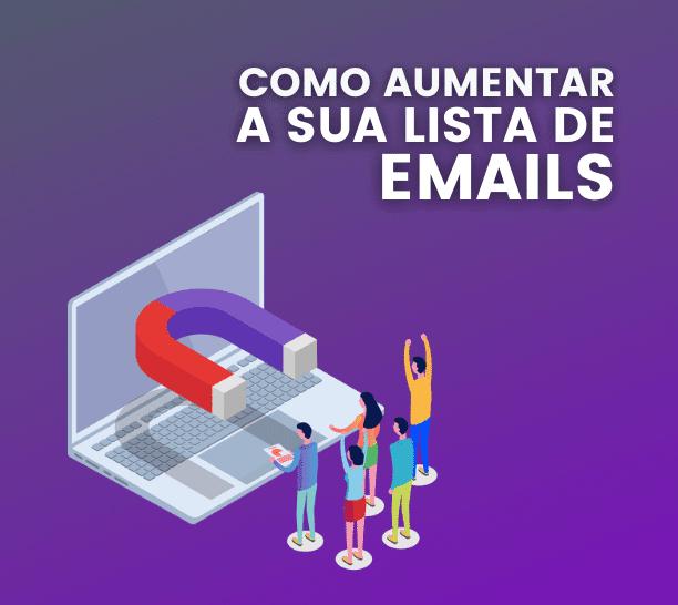 aumentar lista de emails