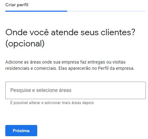 google meu negócio - onde você atende seus clientes