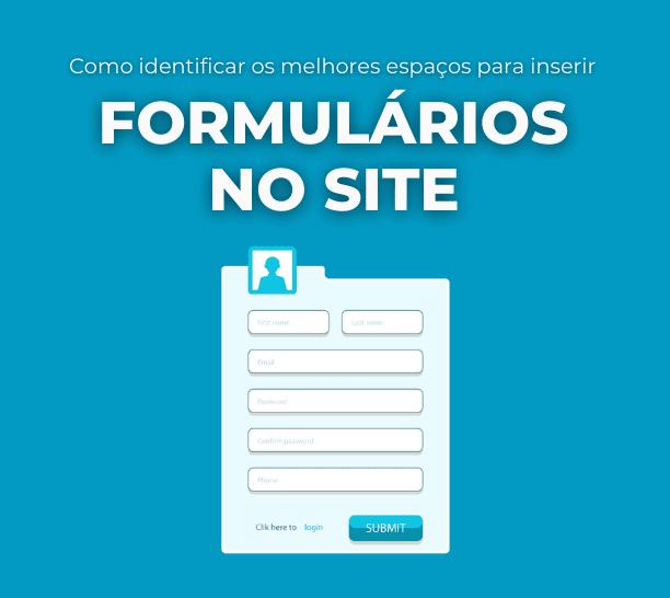 formulários no site